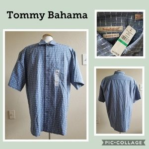 Tommy Bahama - 55% Silk and 45% Cotton - Large